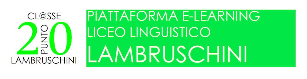 Classe 2.0 - Liceo Lambruschini